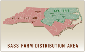 Where to buy Bass Farm Sausage in North Carolina