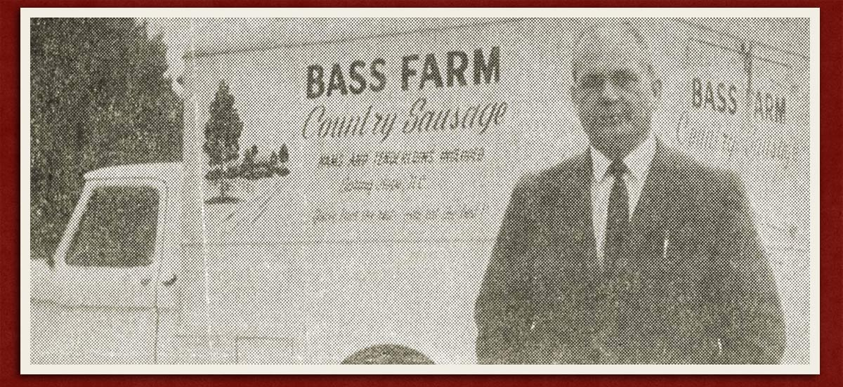 Ralph Bass with Bass Farm Country Sausage NC Truck